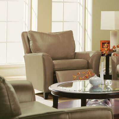India Recliner Upholstery: All Leather Protected - Tulsa II Chalk