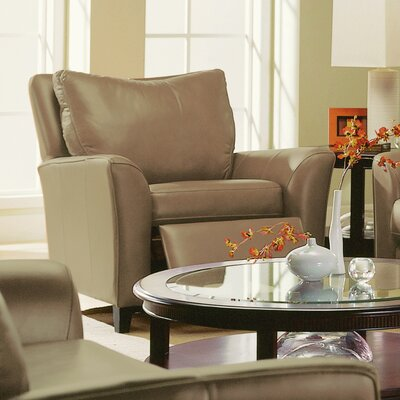 India Recliner Upholstery: Leather/PVC Match - Tulsa II Sand