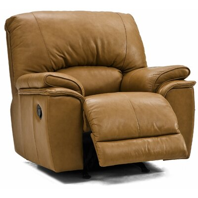 Dallin Rocker Recliner Type: Power, Upholstery: All Leather Protected - Tulsa II Sand