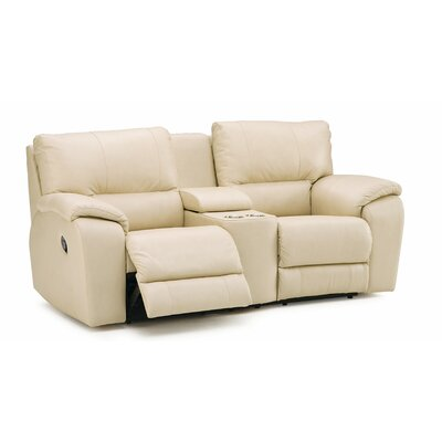 Shields Leather Sofa Upholstery: All Leather Protected - Tulsa II Chalk, Type: Manual