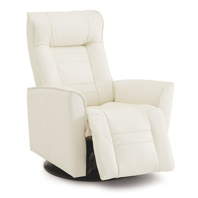 Glacier Bay Rocker Recliner Upholstery: Leather/PVC Match - Tulsa II Stone
