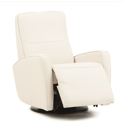 Sierra II Rocker Recliner Upholstery: Bonded Leather - Champion Granite