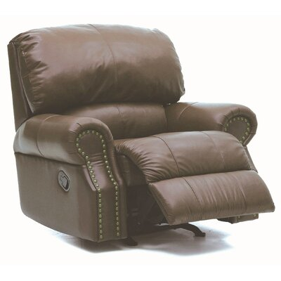 Charleston Swivel Rocker Recliner Upholstery: Bonded Leather - Champion Khaki