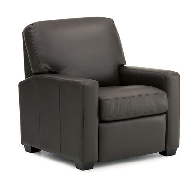 Westend Armchair Upholstery: Leather/PVC Match - Tulsa II Jet