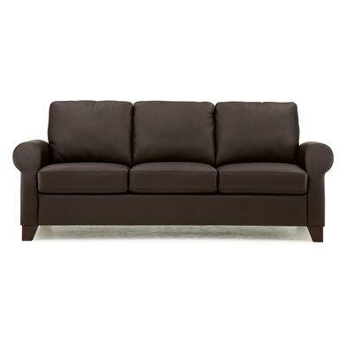 Ottawa Sofa Upholstery: All Leather Protected  - Tulsa II Dark Brown