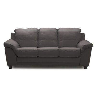Sirus Sofa Upholstery: Bonded Leather - Champion Granite