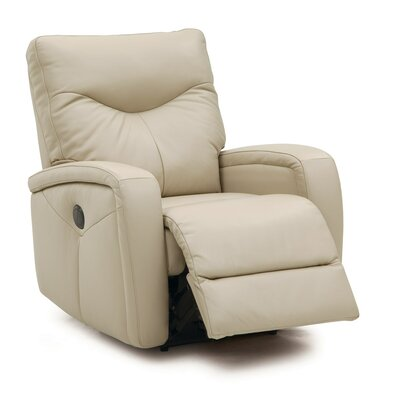 Torrington Lift Chair Upholstery: Bonded Leather - Champion Alabaster, Type: Power