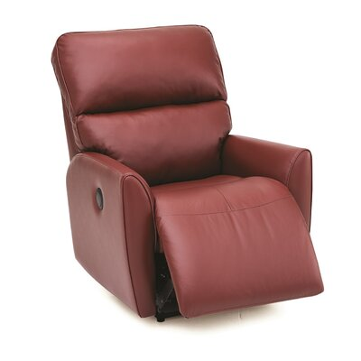 Markland Lift Chair Upholstery: Bonded Leather - Champion Alabaster