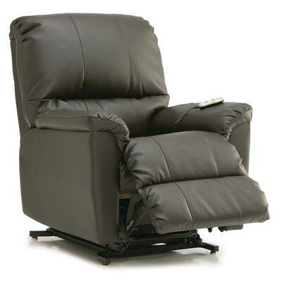 Grady Lift Chair Upholstery: Bonded Leather - Champion Alabaster