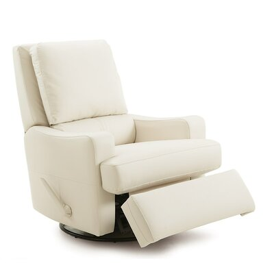Triumph Rocker Recliner Upholstery: Leather/PVC Match - Tulsa II Jet