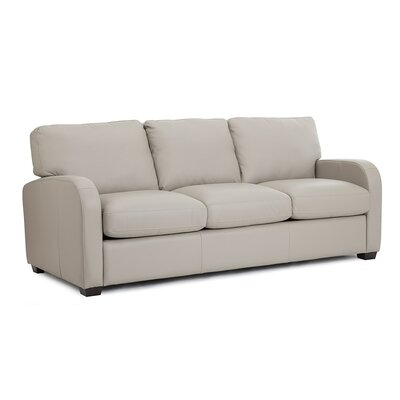 Westside Sofa Upholstery: Leather/PVC Match - Tulsa II Jet