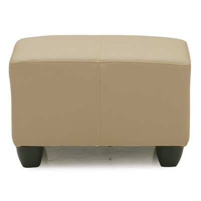 Sirus Ottoman Upholstery: All Leather Protected  - Tulsa II Dark Brown