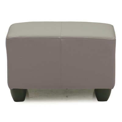 Sirus Ottoman Upholstery: All Leather Protected  - Tulsa II Stone