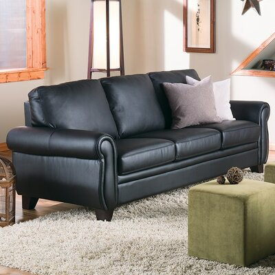 Meadowridge Sofa Upholstery: All Leather Protected  - Tulsa II Stone