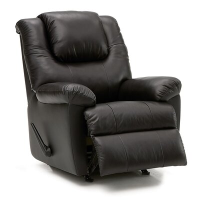 Tundra Wall Hugger Recliner Upholstery: All Leather Protected - Tulsa II Bisque, Type: Manual