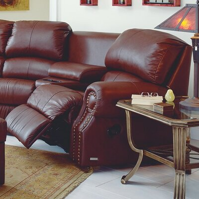 Charleston Swivel Rocker Recliner Upholstery: Bonded Leather - Champion Java