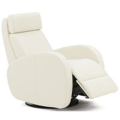 Jasper Wall Hugger Recliner Upholstery: Bonded Leather - Champion Alabaster