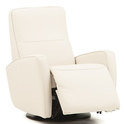 Sierra II Wall Hugger Recliner Upholstery: All Leather Protected - Tulsa II Chalk