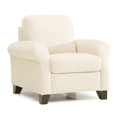Ottawa Rocker Recliner Upholstery: Bonded Leather - Champion Alabaster