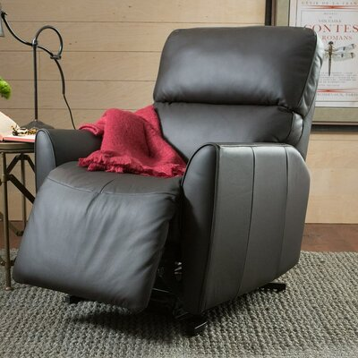 Markland Lift Chair Upholstery: Bonded Leather - Champion Onyx