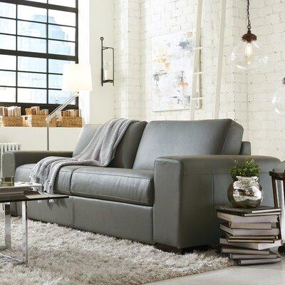 Weekender Leather Modular Sofa Upholstery: Granite