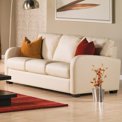 Westside Sofa Upholstery: Leather/PVC Match - Tulsa II Sand