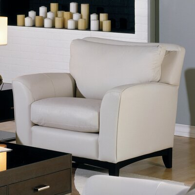 India Armchair Upholstery: Bonded Leather - Champion Onyx
