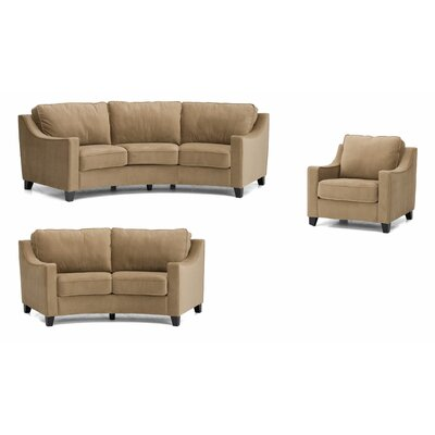 Luna Sofa, Loveseat and Chair Set
