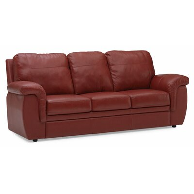 Leather Sofa on Palliser Furniture Brunswick Leather Sofa   40620 01