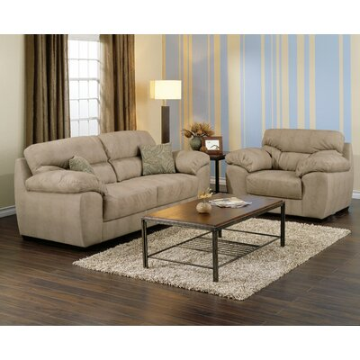 2 piece living room set on Furniture Ariane 2 Piece Fabric Living Room Set   70533 Fabric