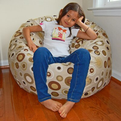 Bean Bag Lounger Upholstery: Cocoa
