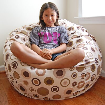 Bean Bag Lounger Upholstery: Latte