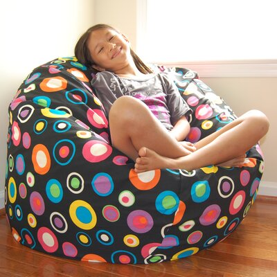 Bean Bag Lounger Upholstery: Jelly Bean