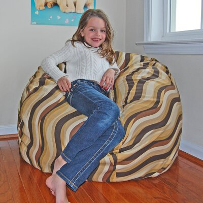 Bean Bag Chair Upholstery: Cocoa
