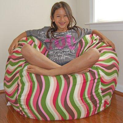 Bean Bag Chair Upholstery: Guava