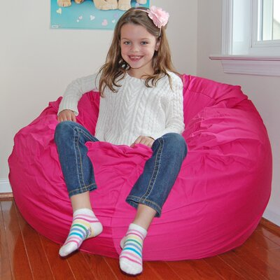 Bean Bag Chair Upholstery: Hot Pink
