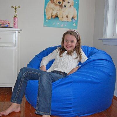 Bean Bag Chair Upholstery: Blue