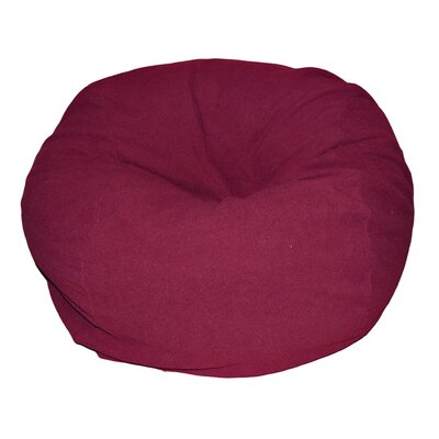 Bean Bag Chair Upholstery: Burgundy