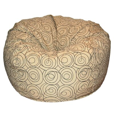 Bean Bag Chair Upholstery: Tan