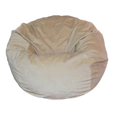 Bean Bag Chair Upholstery: Light Tan