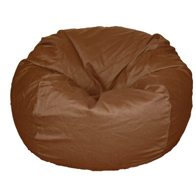 Bean Bag Chair Upholstery: Cocoa Brown