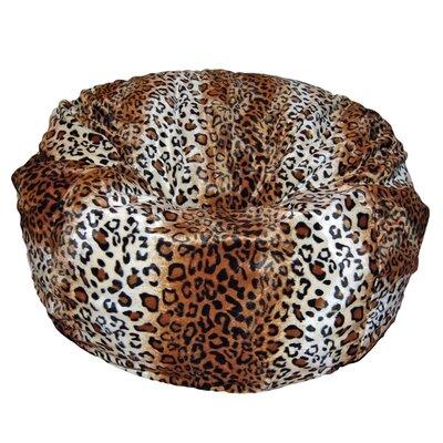 Bean Bag Chair Upholstery: Brown
