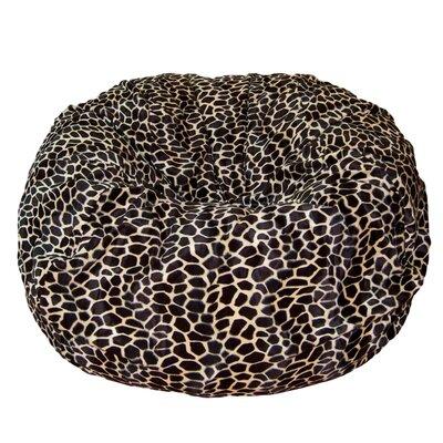 Bean Bag Chair Upholstery: Tan