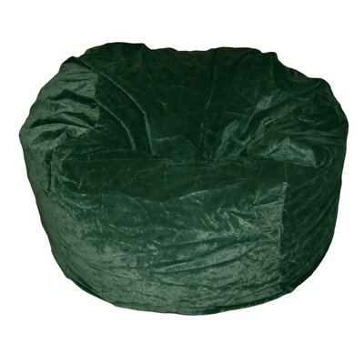 Bean Bag Chair Upholstery: Dark Green