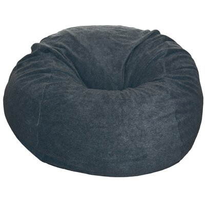 Bean Bag Chair Upholstery: Dark Gray
