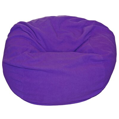 Bean Bag Chair Upholstery: Purple