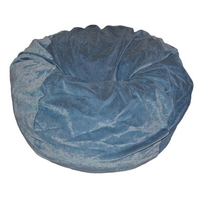 Bean Bag Chair Upholstery: Slate Blue