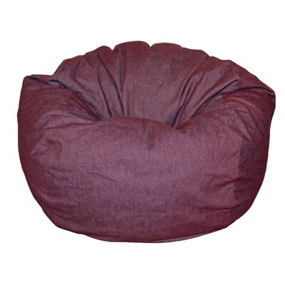 Bean Bag Chair Upholstery: Eggplant