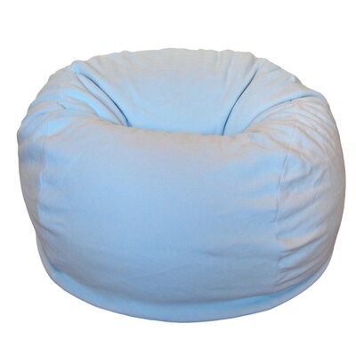 Bean Bag Chair Upholstery: Light Blue