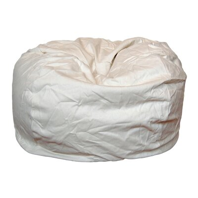 Bean Bag Chair Upholstery: Natural / Cream